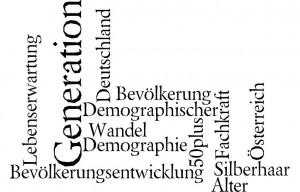 Demographischer Wandel Demographie Alter Generation Silberhaar