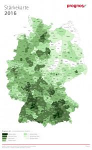 Prognos Zukunftsatlas Regionen