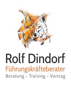 Führungskräfte Trainer Coach Logo Rolf Dindorf