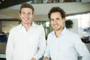 Florian Fleischmann und Christian Vetter