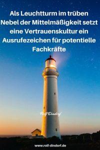 Vertrauenskultur Rolf Dindorf Fachkräftemangel